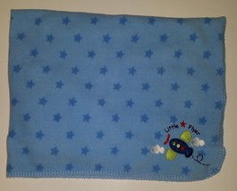Circo Little Flyer Airplane Blue Stars Fleece Baby Boy Security Blanket ... - $277,41 MXN