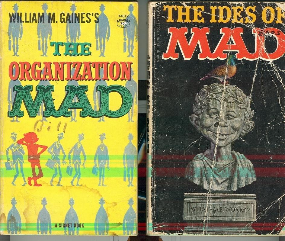 2 mad paperbacks