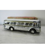 VINTAGE 1960'S GREYHOUND TIN LITHO FRICTION BUS NR MINT IN BOX -JAPAN - $89.05