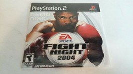 PlayStation 2 Fight Night 2004 Demo Disc 2004 EA Sports PS2 SEALED RARE - $5.93