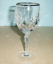 Gorham Lady Anne Platinum Goblet Crystal Made in Germany 4385004 $47.50 New - $34.90