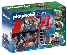 PLAYMOBIL 5420 Secret Dragon LAIR BOX PLAYSET New Sealed - $116.88