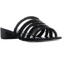 Nine West Raetruda Slide Sandals, Black Multi, 8 US - $32.63