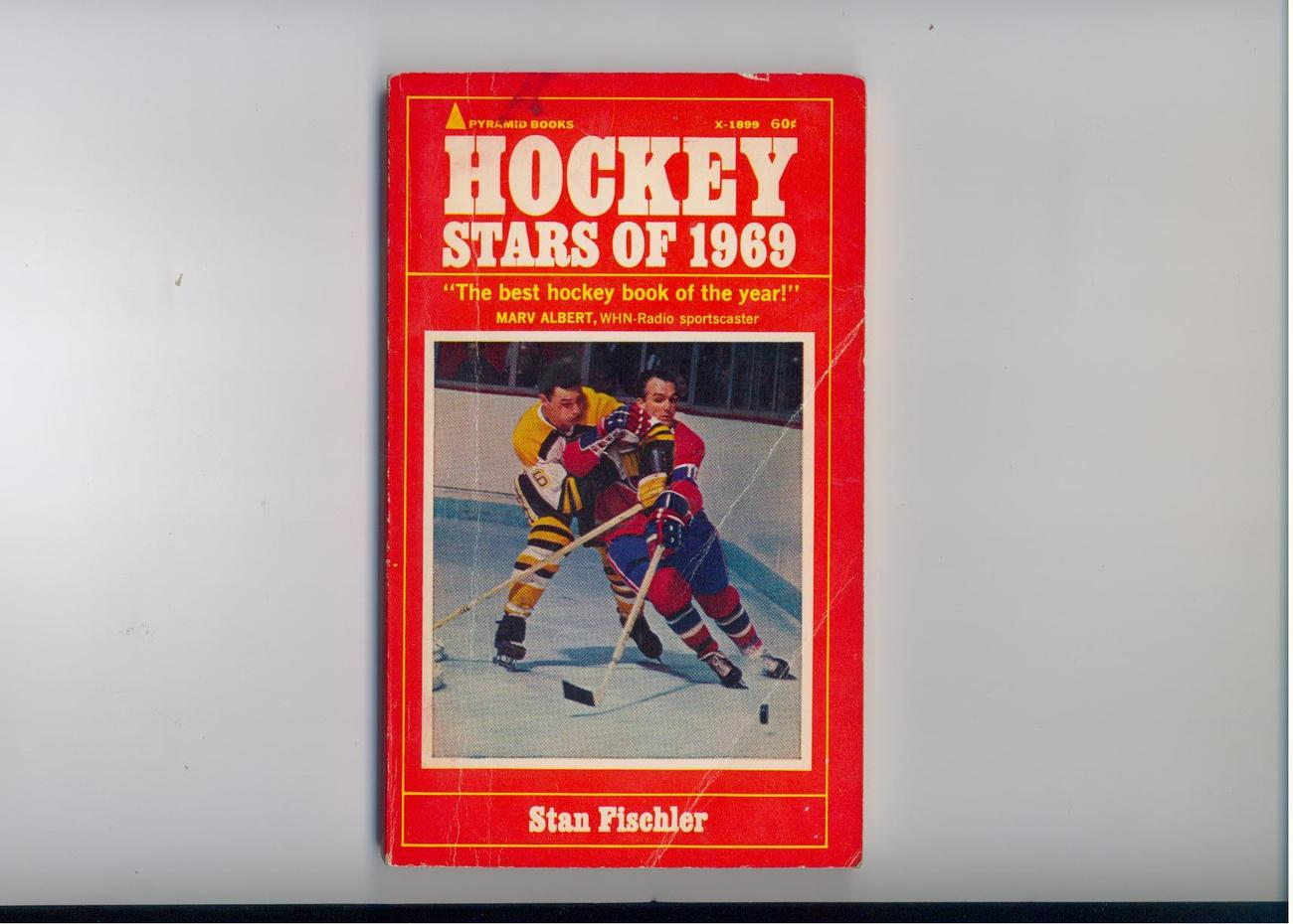 Fischler - HOCKEY STARS OF 1969 - original  paperback