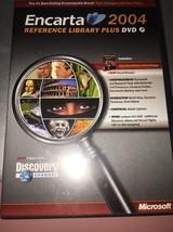 MS Encarta Reference Library 2004 98/2000/ME/XP * - $12.86