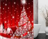 Rtain waterproof modern merry christmas tree shower curtain polyester bath screens thumb155 crop