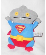 Gund Uglydoll Babo Superman Plush Stuffed Animal Grey Super Hero 4037972 - $10.40