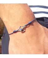 Anchor bracelet, nautical bracelet, nautical jewelry, anchor jewelry - $36.00