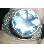 HAUNTED DAILY WISHES  MAGICKAL RING HUGE BLESSINGS WEALTH djinn fairy spell - $1,000.00