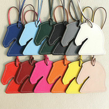 NEW 2019 Handmade Leather Horse Hand Keychain Women Pendant Handbag Acce... - $26.99