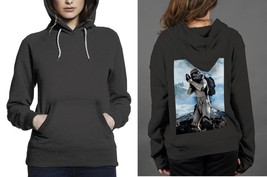 Classic Hoodie Black women Star Wars Tropers - $28.99