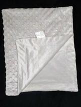 SL Home Fashions 119741 Solid Gray Raised Minky Dot Baby Blanket Lovey 30x40 EUC - $24.38