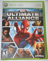 XBOX 360 - MARVEL ULTIMATE ALLIANCE (Complete with Manual)) - $10.00