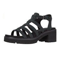 Timberland Women's Violet Marsh Fisherman Black Sandals A2A3G - $69.99