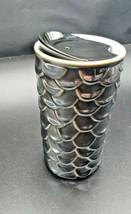 Starbucks 10oz Ceramic Travel Mug, Double Wall Scales, Gray - $24.75
