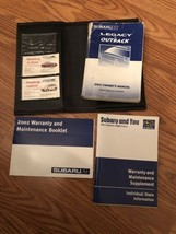 Genuine 2002 02 Subaru Legacy Outback Owner's Owners Manual Case Set Guide - $19.99