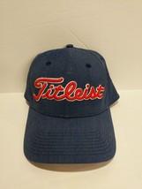 Titleist  FJ Foot Joy Golf Hat Cap Denim Blue with Red & White Lettering... - $17.77