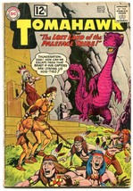 Tomahawk #82 Comic Book 1962- Dc Western -SCI Fi ISSUE-CAVE MONSTER- Vg - $49.18