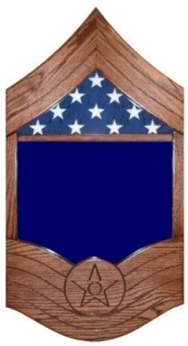 Primary image for AIR FORCE CHIEF MASTER SERGEANT MILITARY AWARD SHADOW BOX MEDAL DISPLAY CASE