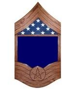 AIR FORCE CHIEF MASTER SERGEANT MILITARY AWARD SHADOW BOX MEDAL DISPLAY ... - $360.99