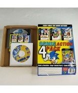 Sonic Action 4 Pack PC 2001 New Open Big Box Sega Activision - $168.25