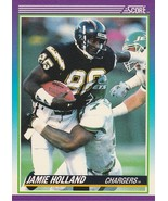 1990 Score #211 Jamie Holland  - $0.50