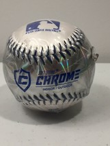Franklin Sports Baseball MLB Soft Strike Chrome Metallic Orange Tee Ball... - $8.91