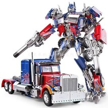 Transformation Optimus Prime Alloy Action Figure 30cm Robot Model Toy Gifts - $146.51