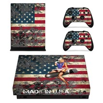 American Girl xbox one X skin decal for console and 2 contro - $15.00