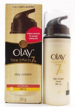 Olay Total Effects 7-In-1 Anti Ageing Day Firming Skin Cream With Spf 15 20gm fs - $11.85