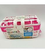 Pink Munchkin High Capacity Dishwasher Basket Bottles Nipples Pink Plastic - $12.00