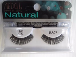 Ardell Strip Lashes Natural Style 101 Demi Black (Pack of 6) - $21.97