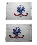 ALBATROS 12 in x 18 in Embroidered U.S. Army White Double Sided 2ply 220... - $34.48