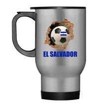 Storecastle 3D Wall Salvadoran Soccer Jersey Gift Travel Mug - $21.99