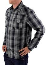 NEW NWT LEVI'S MEN'S LONG SLEEVE BUTTON UP CASUAL DRESS SHIRT GRAY 3LYLW0042 image 4