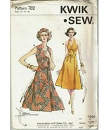Kwik Sew Sewing Pattern 782 Ladies Dress Size 12 14 16 Vintage Style - $17.06