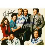 CHEERS CAST SIGNED AUTOGRAPHED 8X10 RPT PHOTO ALL 7 TED DANSEN WOODY HAR... - $18.99