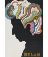 BOB DYLAN POSTER 24x36 INCHES MILTON GLASER DESIGN OUT OF PRINT NEW    - $29.99