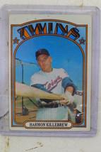 1972 Topps #51 Harmon Killebrew Twins baseball card - $4.00
