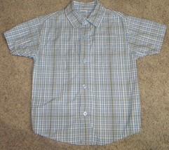 Gymboree Country Club Plaid Shirt Size 5  - $9.49