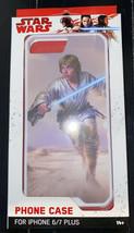 Star Wars Luke Skywalker iPhone  6/7 Plus Phone Case Cover White NEW.   ... - $2.85