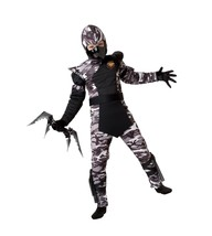 California Costumes Arctic Forces Ninja Child Costume, Large One Color - $32.81