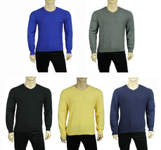 NEW MENS CLUB ROOM V NECK DIAMOND KNIT PATTERN PULLOVER SWEATER $75 - £15.34 GBP