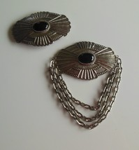 RARE Vintage Blythe & Blythe Very Large Brooch & Hair Barrette - $75.24