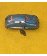 HUKI Wind Up Toy Car With Key 1940s Antique  - $125.00