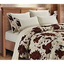 6 pc Regal Comfort Cream Rodeo Print Sheet / Pillowcase Sets - King  - $37.30