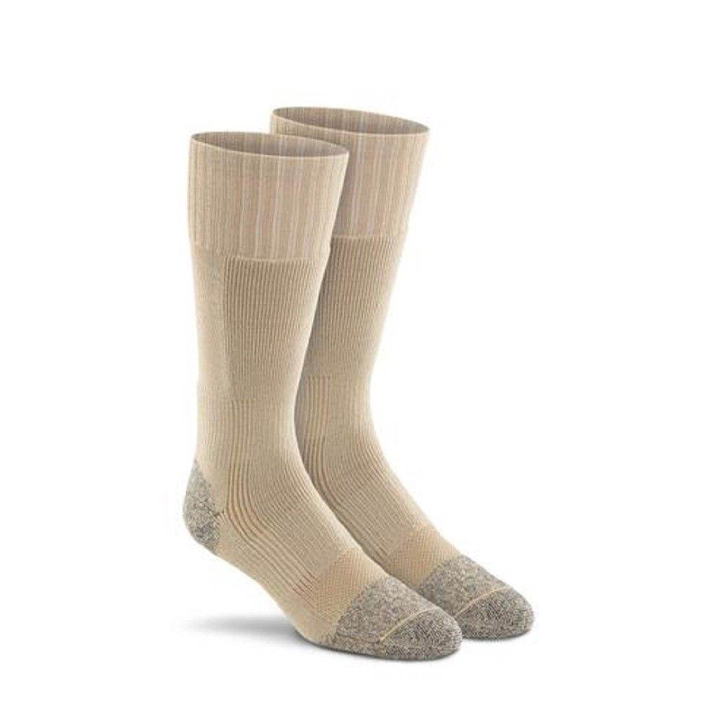 Fox River Men's Wick Dry Maximum Mid Calf Military Sock, 3 PAIR-BLACK
