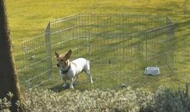 Dog Park 3 Zinc Plated 61x107cm (8 Panels) - $165.34