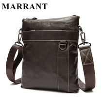 Men Bags Genuine Leather Fashion Mens Messenger Bags Male Real Leather B... - $82.76