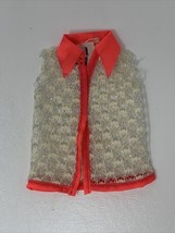 Vintage Talking Barbie Doll Original Outfit Swimsuit Cover Up 1969 #1115 21-1045 - $12.30
